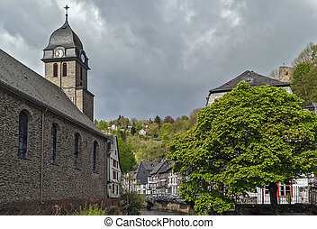 Church in Monschau, Germany
