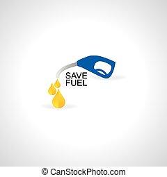 nozzle fuel drop