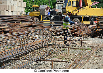 Bore pile reinforcement bar