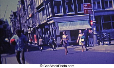 1969: Bohemian district of town - Unique vintage 8mm film...