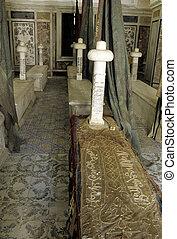 Tourbet El Bey- Tunis, Tunisia - Tombs within the Tourbet...