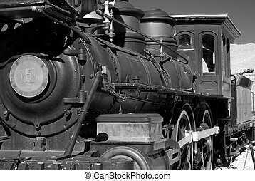 Iron Train - Old western steam engine