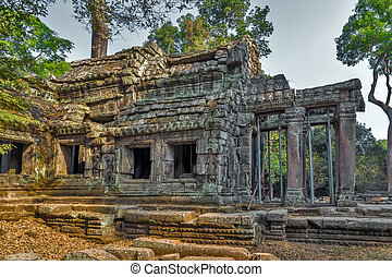 Angkor Wat, Khmer temple complex, Asia. Siem Reap, Cambodia.