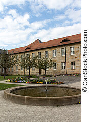 New Palace in Bayreuth, Germany, 2015