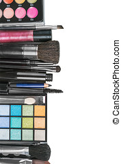 Colorful make-up products