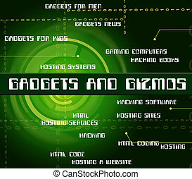 Gadgets And Gizmos Shows Mod Con And Mechanism - Gadgets And...