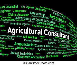 Agricultural Consultant Indicates Position Farm And Job -...