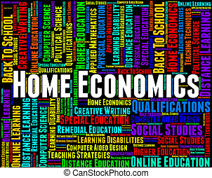 Home Economics Means Studying Educating And Learning