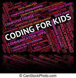 Coding For Kids Indicates Software Youths And Youngster -...