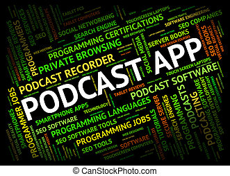 Podcast App Shows Broadcasts Broadcast And Download -...