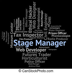 Stage Manager Means Live Event And Career