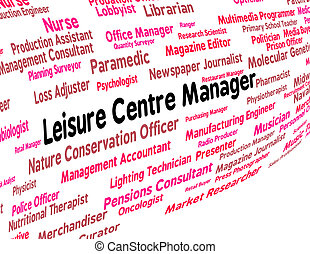 Leisure Centre Manager Represents Gyms Employment And...