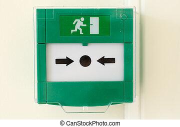 emergency door release