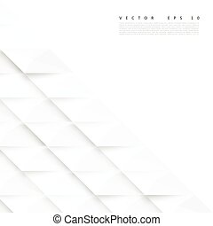 Vector Abstract geometric shape from gray diagonal romb...