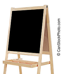 Blank slate a over white background