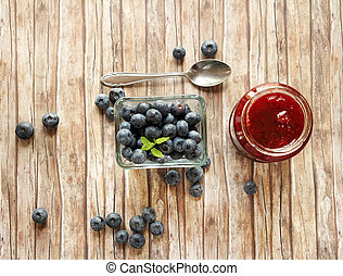 blueberry marmelade