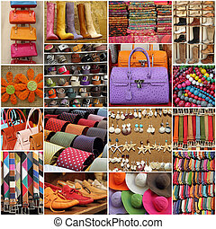 colorful accessories collection