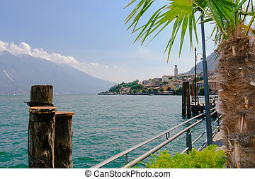 Limone sul Garda,Lake Lago di Garda, - Limone sul Garda,Lake...