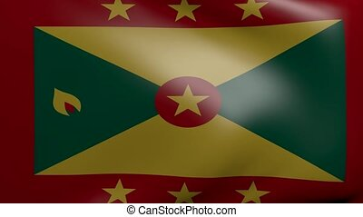grenada strong wind flag