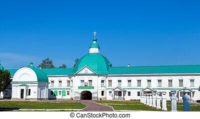 templo, S., Alexander, de, Svir, monasterio,