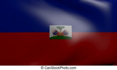 haiti strong wind flag