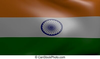 india strong wind flag
