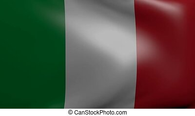 italy strong wind flag