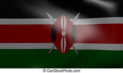kenya wind flag