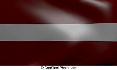 latvia strong wind flag