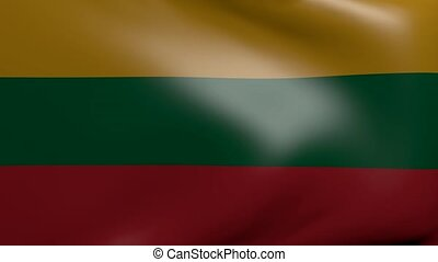lithuania strong wind flag