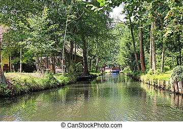 Spreewald Germany - Spreewald is a designate biosphere...