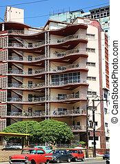 Fifties Architecture Havana Cuba