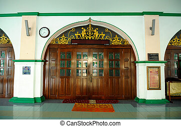 Entrance of the India Muslim Mosque - Indian Muslim Mosque...