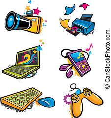 electronic icon - electronic products icon.