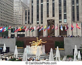 Rockefeller Center in New York City, USA