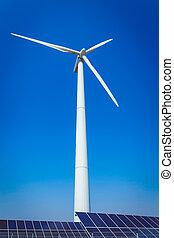 concepto, protección, energía, ambiente, ecología, verde, alternativa