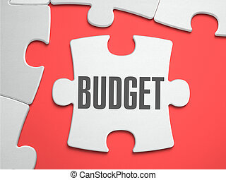 Budget - Puzzle on the Place of Missing Pieces. - Budget -...