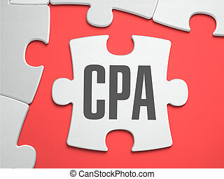 CPA - Puzzle on the Place of Missing Pieces. - CPA - Cost...