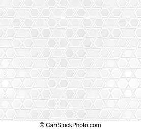 Star of David background - white background with Star of...