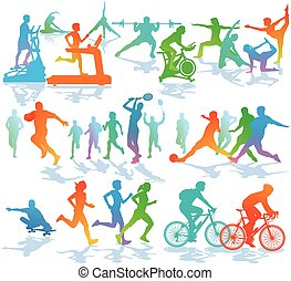Sport-fitness.eps - Fitness and Sports