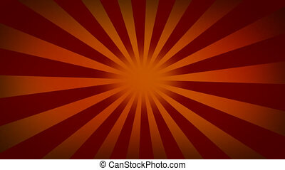 Red sunburst background - Backgrounds series