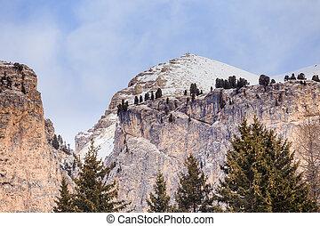 Mountain landscape Selva di Val Gardena, Italy