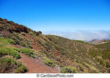 Road to El Teide volcano, Canaries, Tenerife