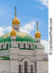 Kiev Pechersk Lavra - view of the ancient Kiev Pechersk...