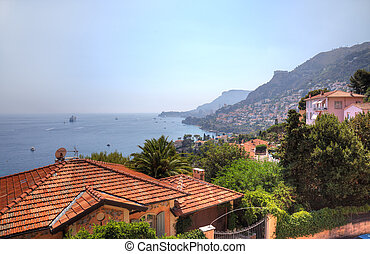 Cap Martin and Monaco summer landscape, Europe