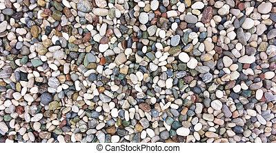 sea stone background - pebble background