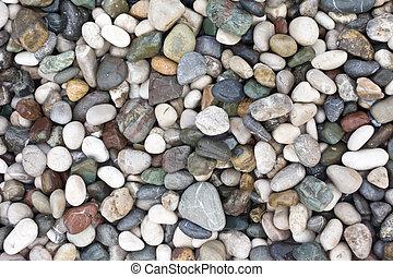 pebble background - sea stone background