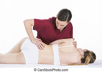 physical therapist spinal mobilization - physical therapist...