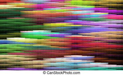 arco irirs, coloreado, filam, Ilustración, tejido, Plano de...