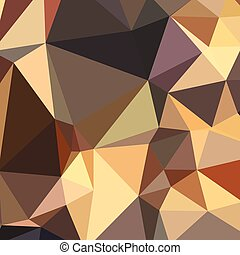 Bole Brown Abstract Low Polygon Background - Low polygon...